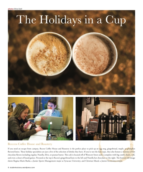 The Holidays in a Cup